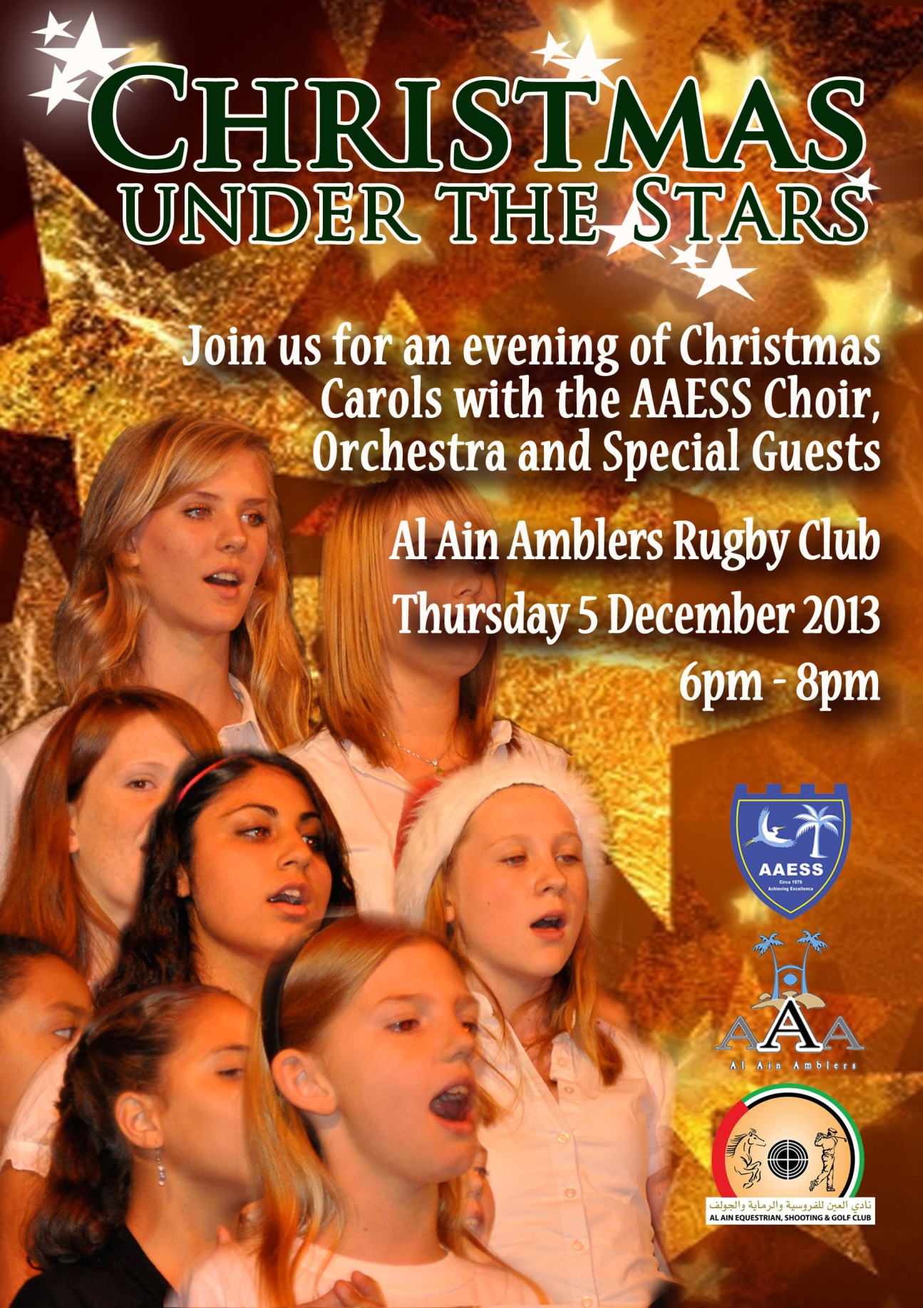 Christmas Concert at the Rugby Club - Thursday, 5th December