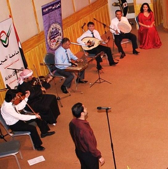 Takht Sharqi at the Multaqa Social Club, UAEU