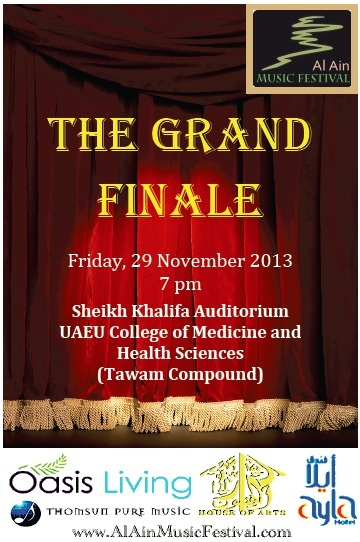 Welcome to the Grand Finale!