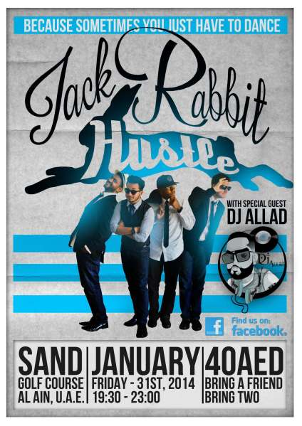 Jack Rabbit Hustle 31 Jan