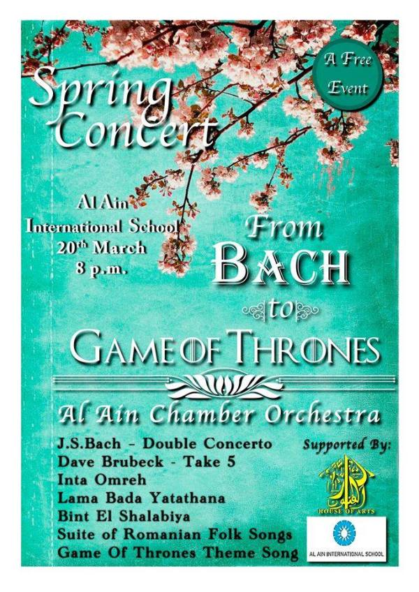 Spring Concert with the Al Ain Chamber Orchestra