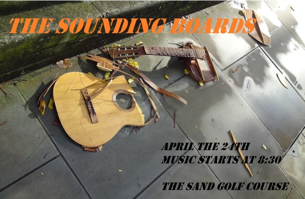 Sounding Boards play the Sands this Thursday!