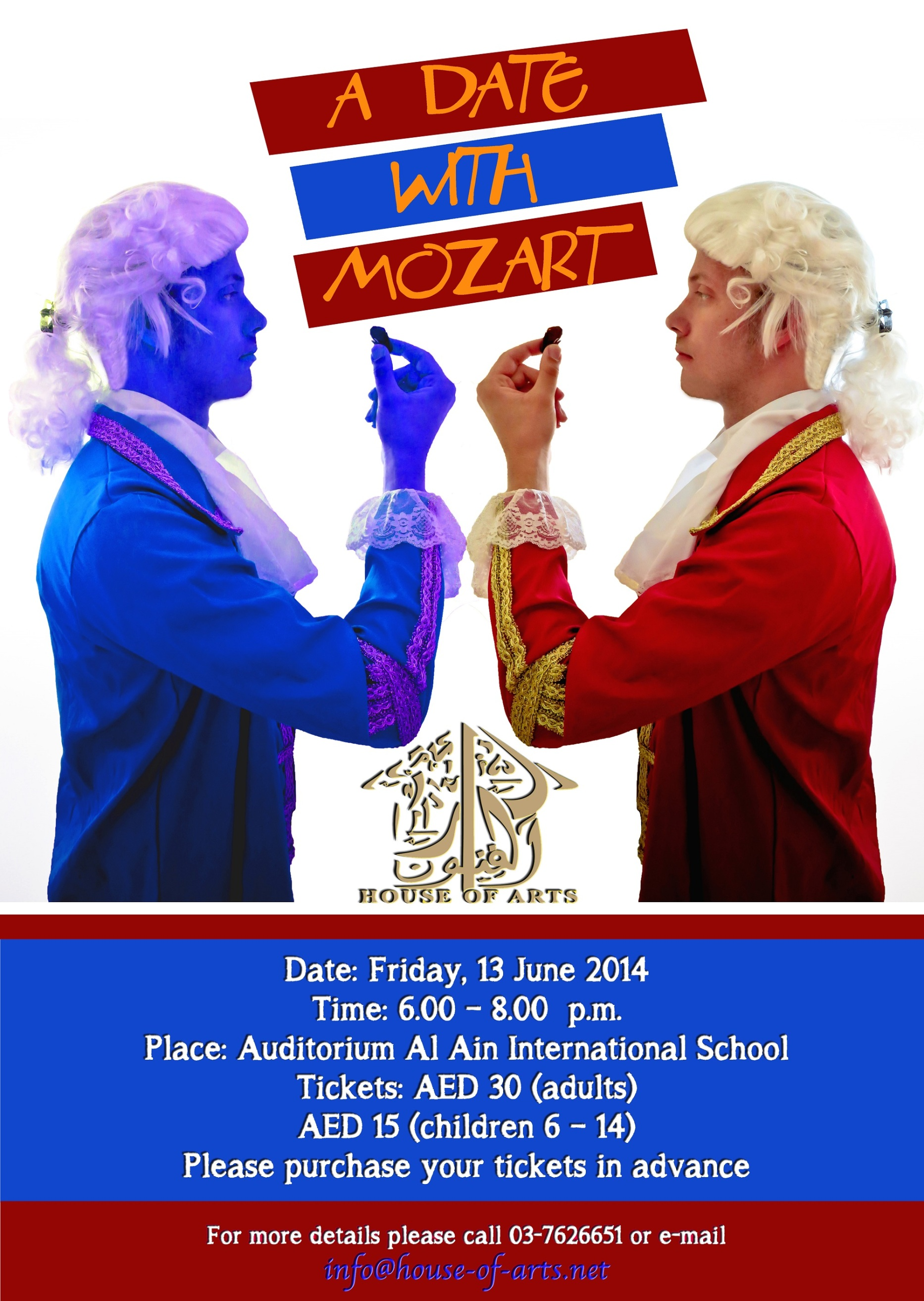 A Date with Mozart on 13th June
