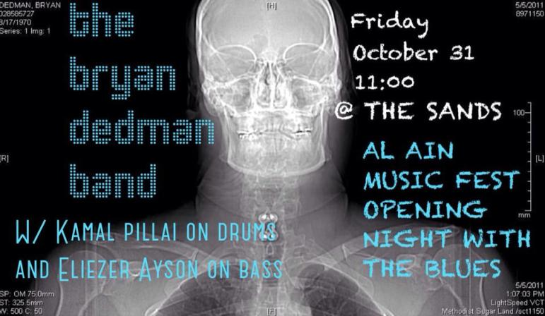 Bryan Dedman Band 31 Oct revised poster