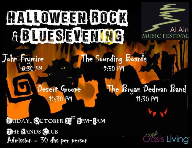 Halloween Rock and Blues Night 31 Oct 2014 final version