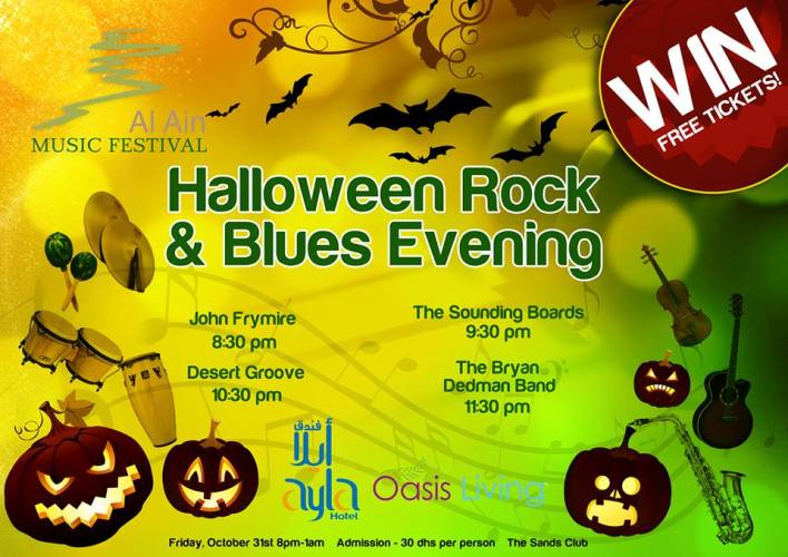 Halloween Rock and Blues Night free tickets