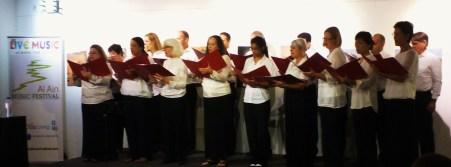 Al Ain Choral Society 7 Nov a