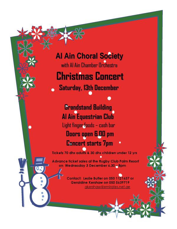 Choral Christmas 2014 2