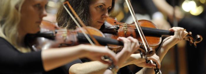 City of Birmingham Symphony Orchestra section