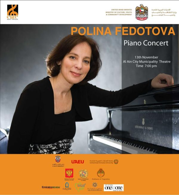 Polina Fedotova flyer