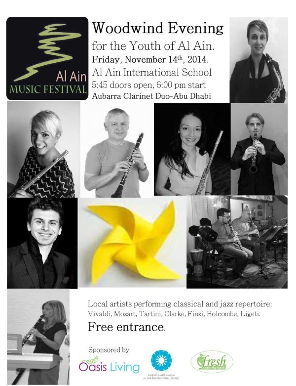 Woodwind Evening 14 Nov flyer