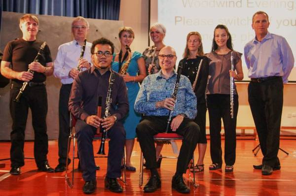 Woodwind Evening 14th November group shot