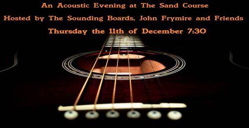 acoustice evening 11 Dec 2014