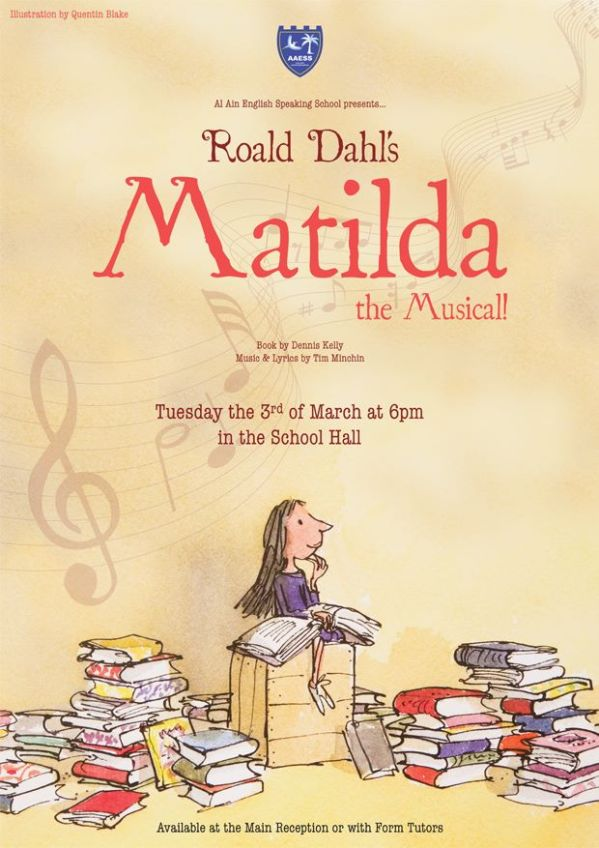 Matilda the Musical at the AAESS