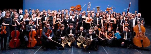 Orchestra Accademia Teatro alla Scala photoshoot