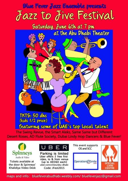 Jazz to Jive Festival 6 June 2015