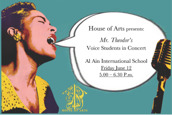 Teodor's voice students 12th June 2015