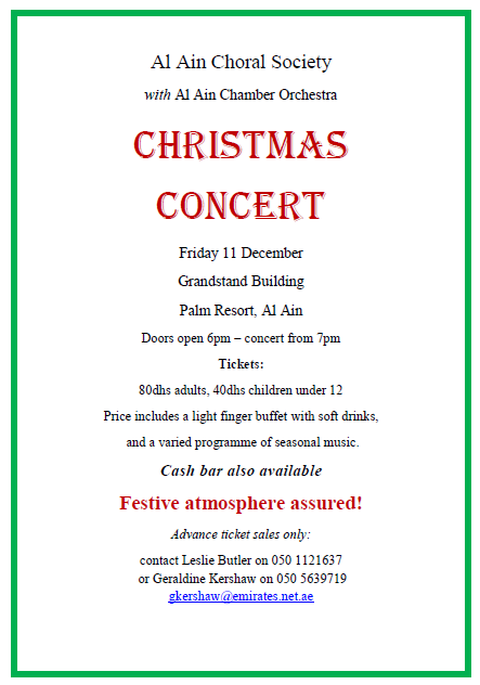 Christmas Choir Concert Flyer Templates