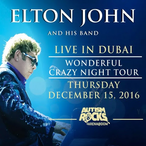 Elton John live in Dubai