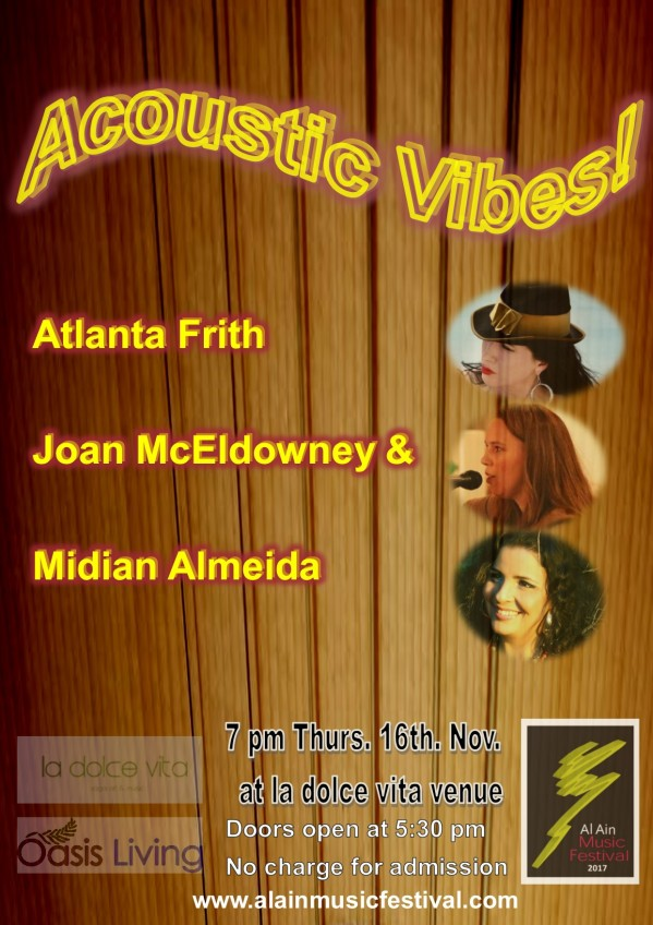 AAMF 2017 Acoustic Vibes! flyer v5