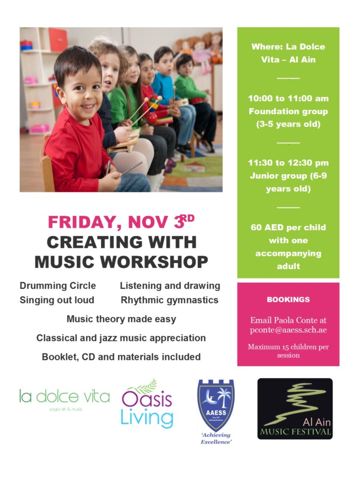 AAMF 2017 Creating with Music Workshop