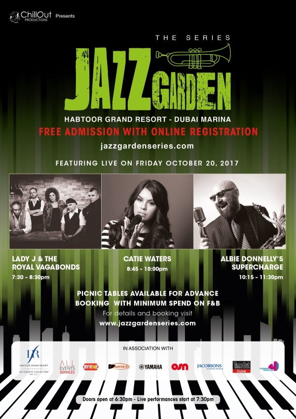 Jazz Garden registration flyer
