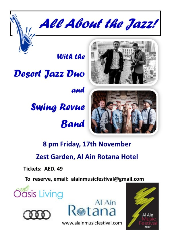 All About the Jazz! flyer v2