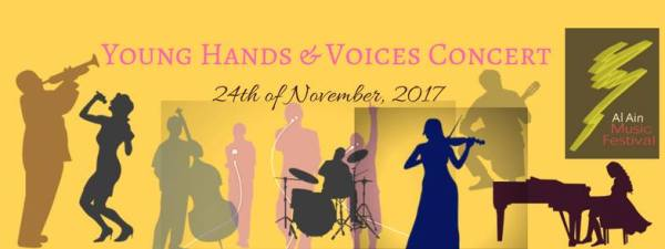 Young Hands & Voices concert banner