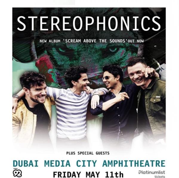Stereophonics Dubai
