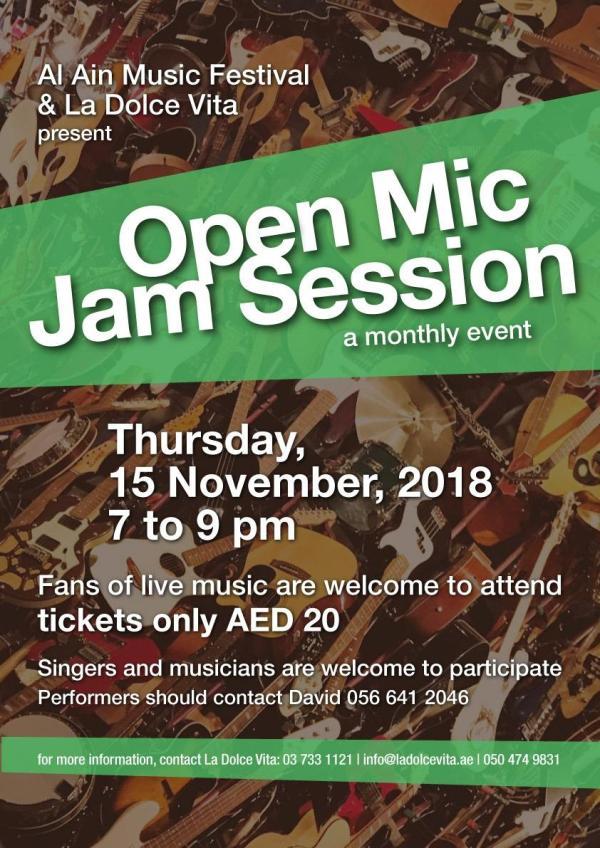 LDV Open Mic Night flyer