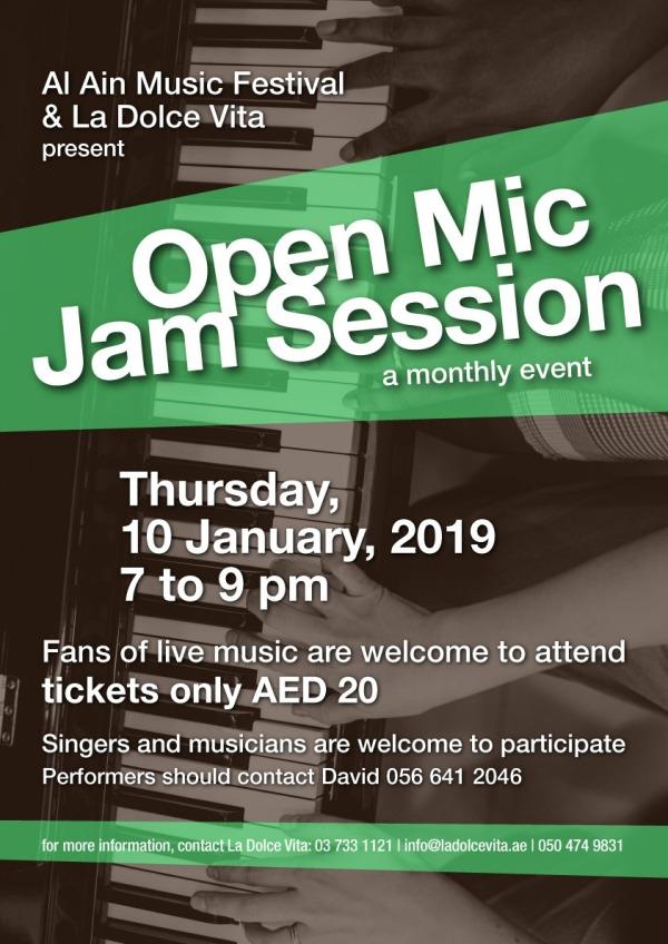 open-mic-jan. 10