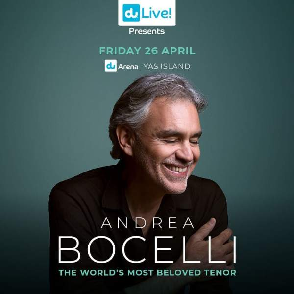Andrea Bocelli flyer